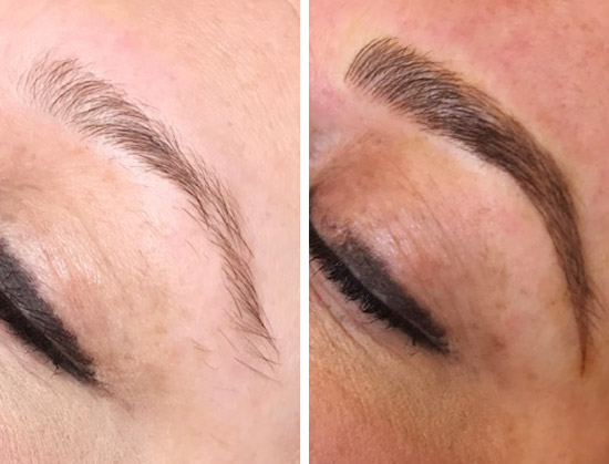Microblading Services from BJ Grand Salon & Spa